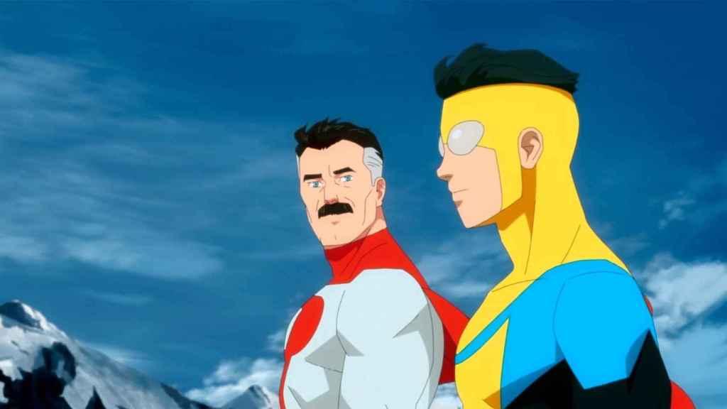 Omni Man e Invencible son los únicos viltrumitas en la Tierra.