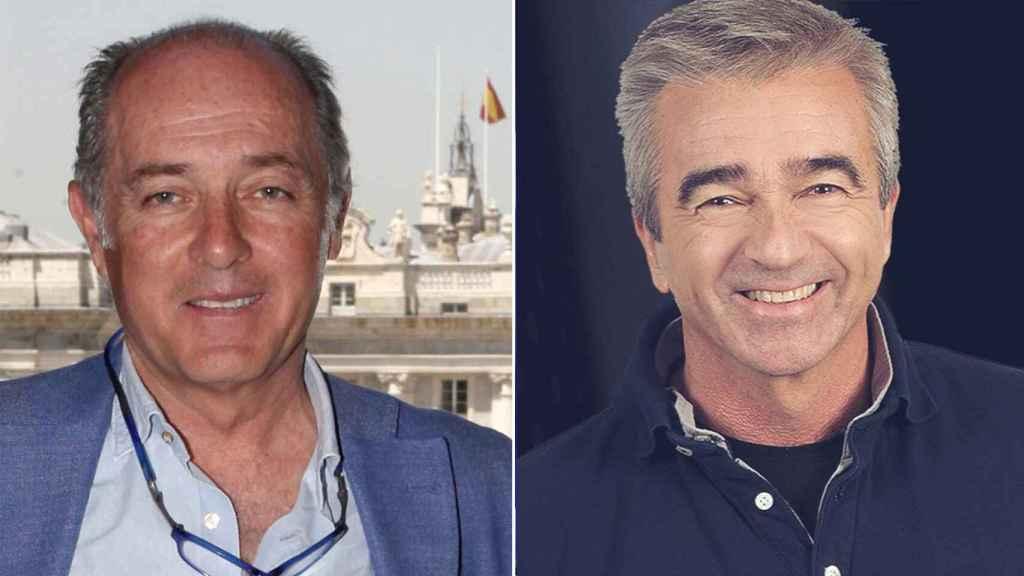 José Manuel Soto y Carles Francino en un fotomontaje.