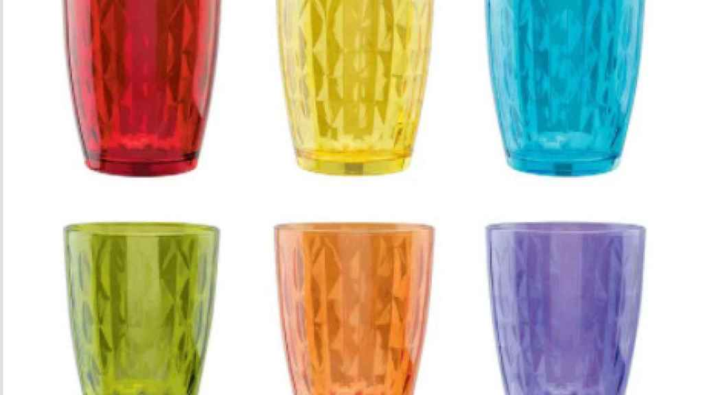vasos de cristal Tognana