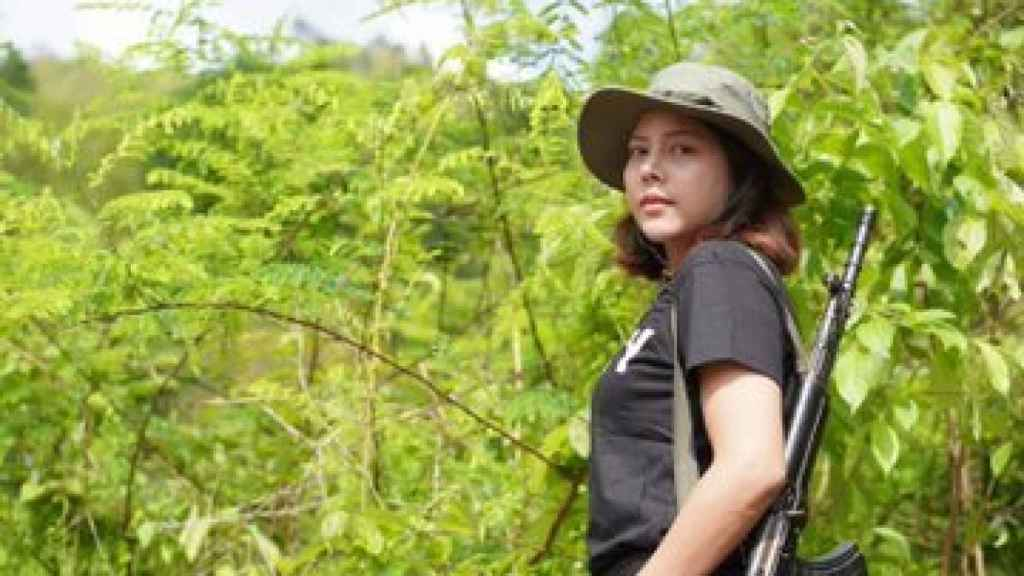 La miss y modelo birmana Htar Htet Htet.