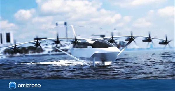 El barco eléctrico con alma de avión: vuela a 290 km/h gracias al efecto suelo