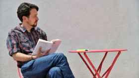 Pablo Iglesias con su nueva imagen sin coleta.