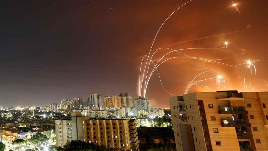 Misiles interceptores del Iron Dome