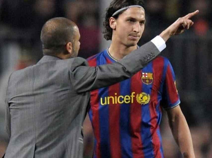 Zlatan Ibrahimovic es el fichaje más caro de Pep Guardiola