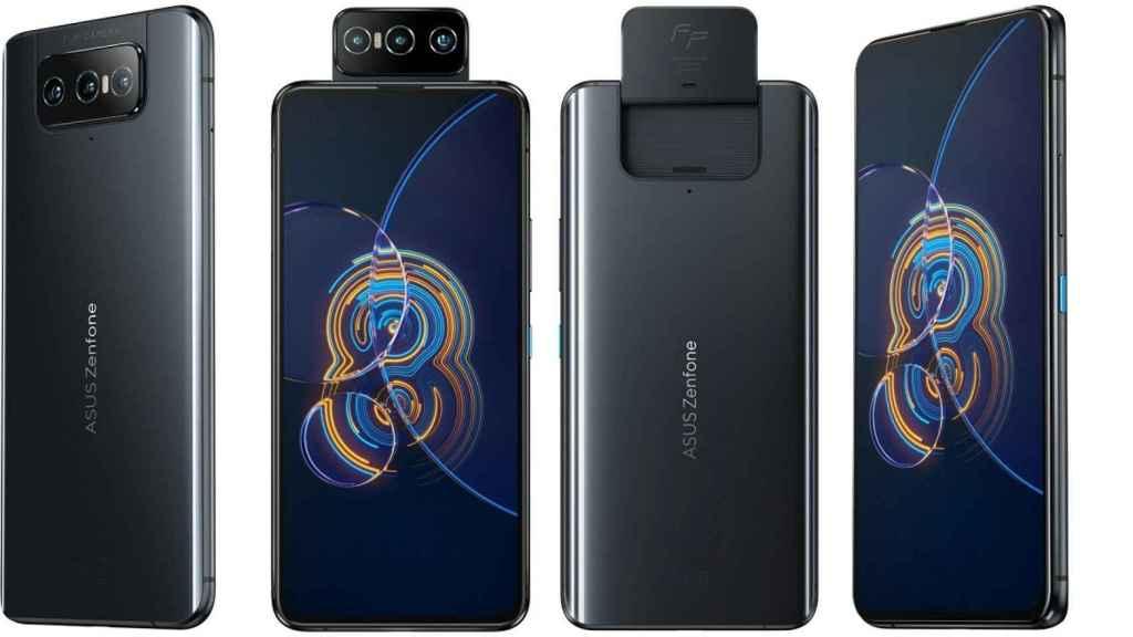 ASUS Zenfone 8 Flip diseño