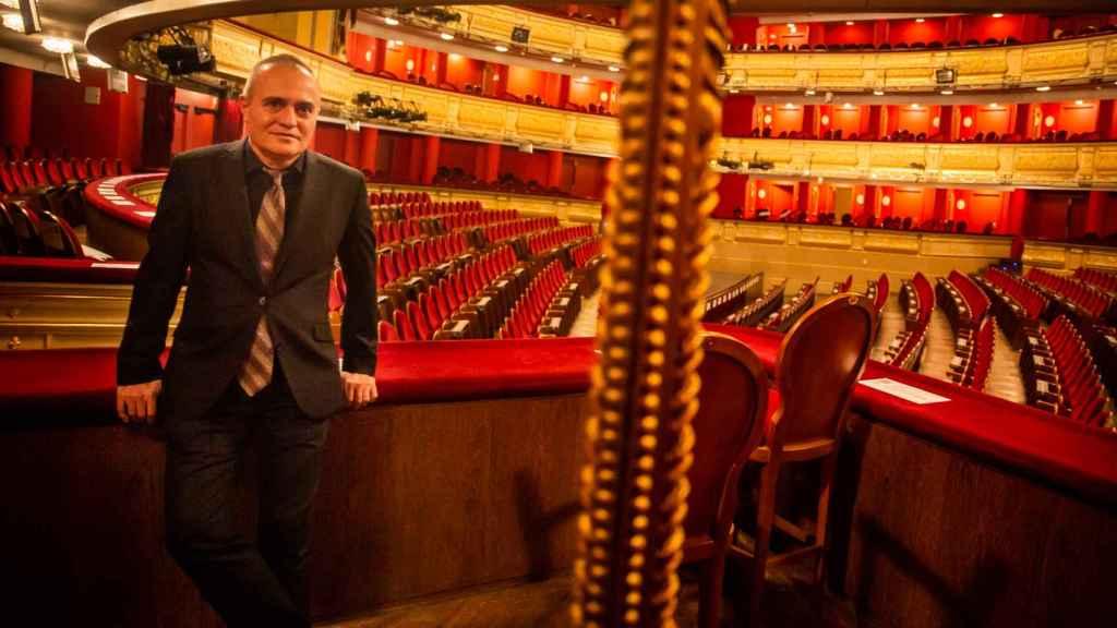 Joan Matabosch llegó al Teatro Real en 2013 para sustituir a Gerard Mortier.