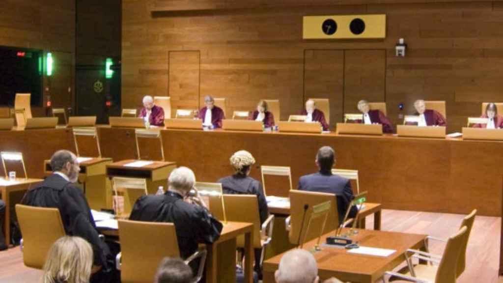 Una sala del Tribunal de Justicia de la Unión Europea