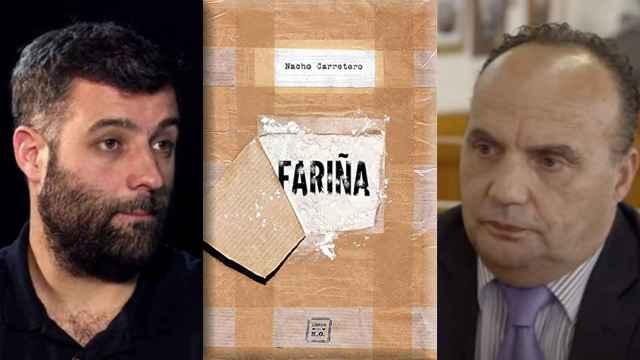 El autor del libro 'Fariña', Nacho Carretero, y el testigo protegido de la operación Nécora Manuel Fernández Padín.
