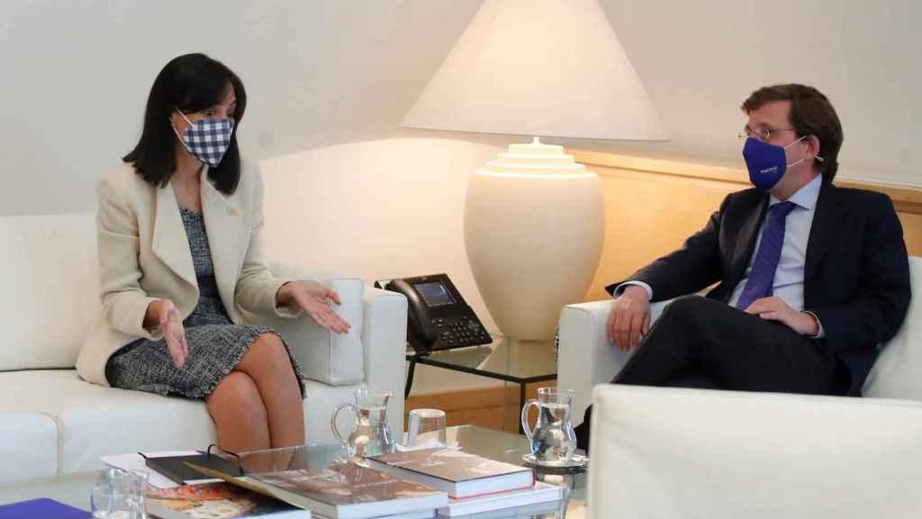 González y Almeida, en su reunión de este miércoles.