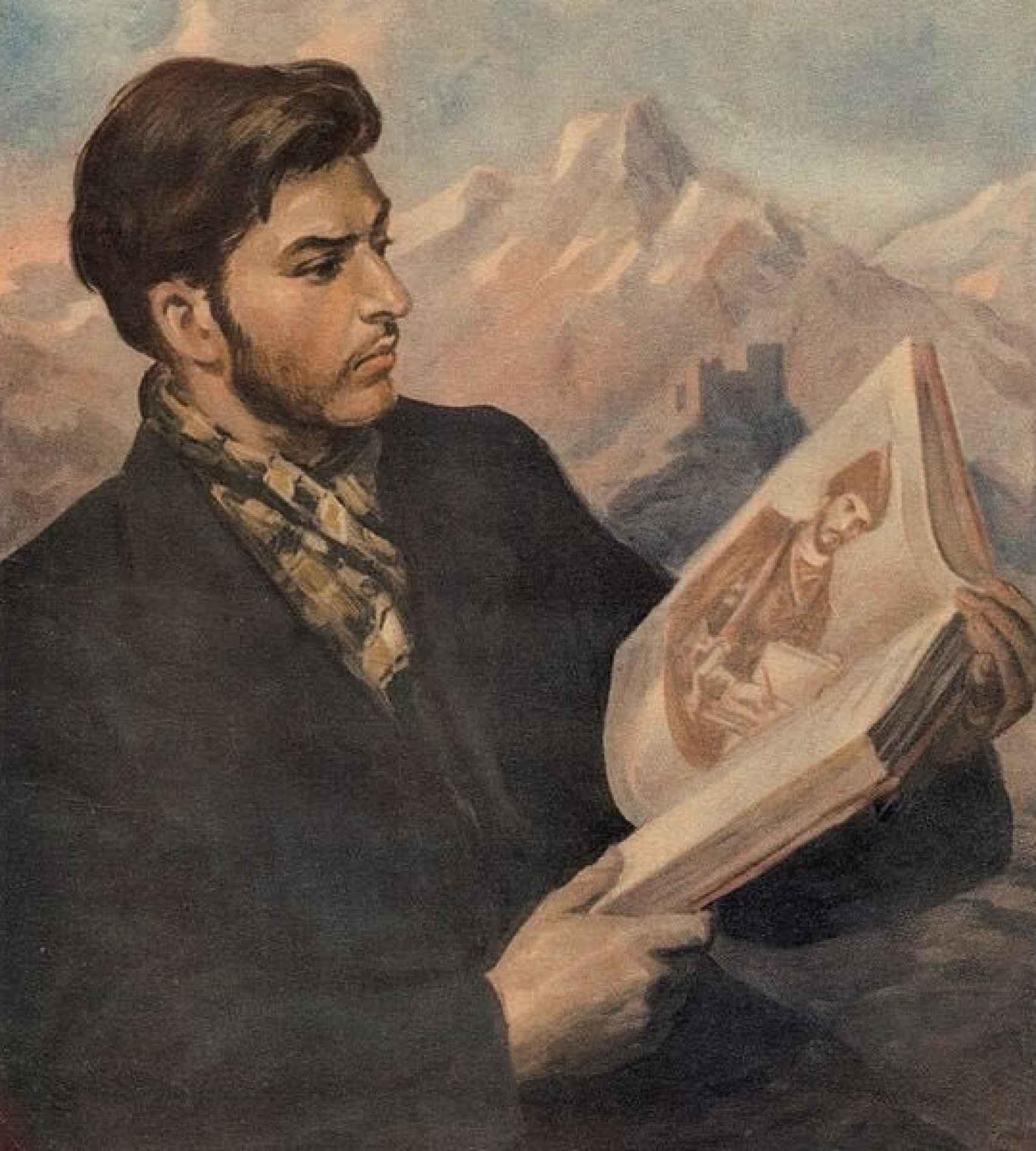 El joven Stalin, de Iraklij Toidze (1932).