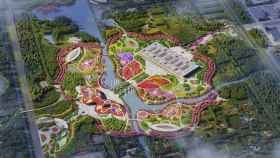 La Feria de Flores de  Shangay es una de las más importantes del mundo.
