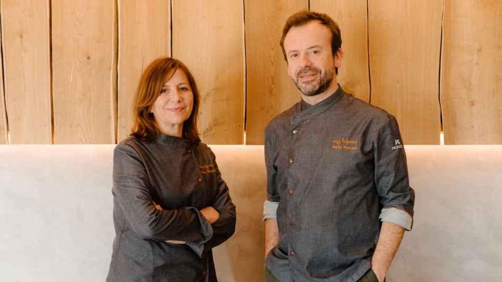 Nacho y Esther Manzano