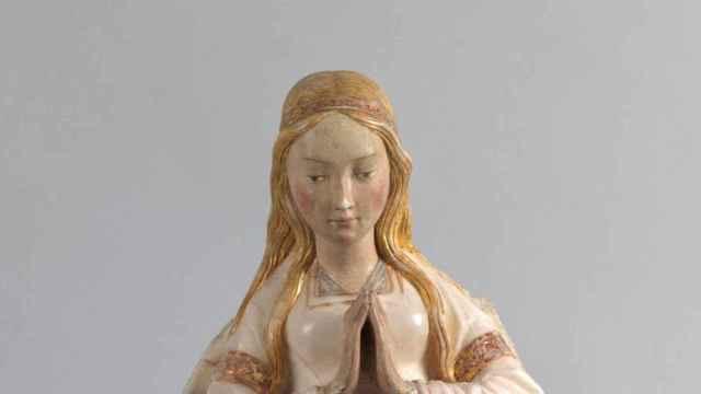 La escultura que databa erróneamente en el museo del Prado.