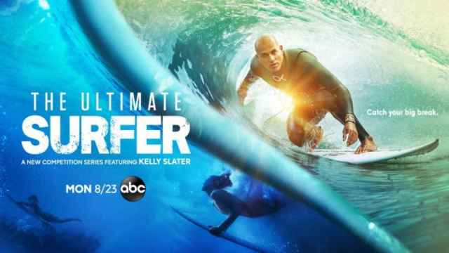 Cartel promocional de The Ultimate Surfer