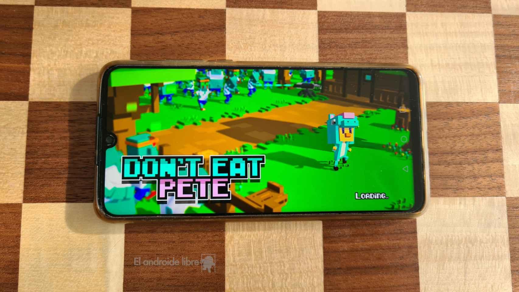 Don't eat Pete: cuando Minecraft y un juego de zombies se cruzan