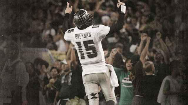 Homenaje de Hawaii Football por la muerte de Colt Brennan
