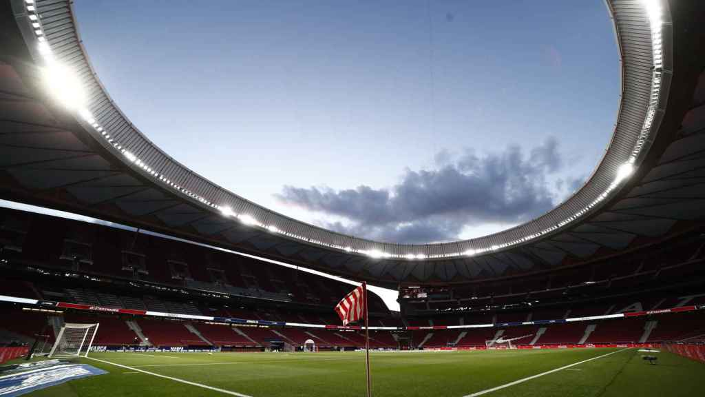 El estadio Wanda Metropolitano