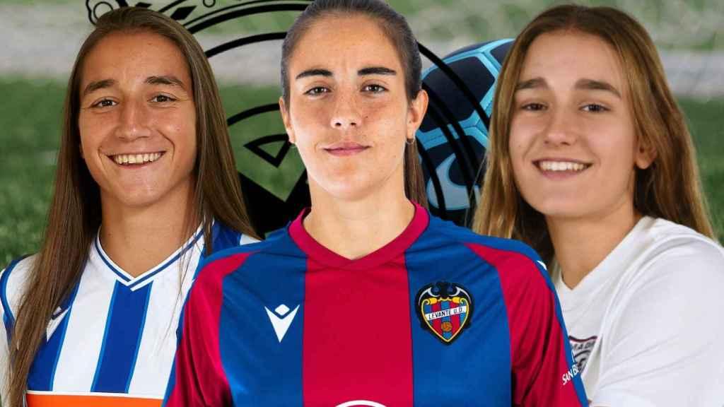 Lucía Rodríguez, Rocío Gálvez y María García 'Pichi'