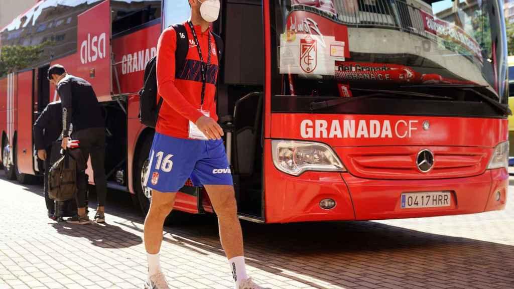 Víctor Díaz, jugador del Granada CF