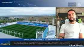 Dani Carvajal, en Real Madrid Conecta