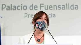 Blanca Fernández, consejera de Igualdad y portavoz del Gobierno de Castilla-La Mancha. Foto: Óscar Huertas
