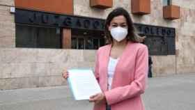 Claudia Alonso, este miércoles ante el Juzgado de Toledo