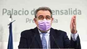 Jesús Fernández Sanz, consejero de Sanidad de Castilla-La Mancha, en una imagen reciente de Óscar Huertas