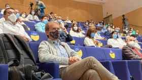 El director del Centro de Coordinación de Alertas y Emergencias Sanitarias, Fernando Simón, este miércoles antes de participar en una conferencia en Ciudad Rea. Foto: EUROPA PRESS / PATRICIA GALIANA