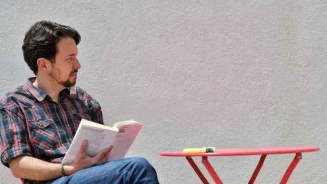 Pablo Iglesias con su nueva imagen sin coleta. Dani Gago.
