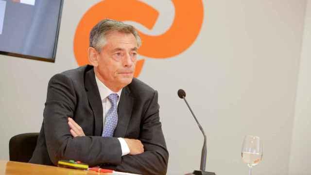 Juan Luis Durich, durante la presentación de los resultados de Consum de 2020. EE