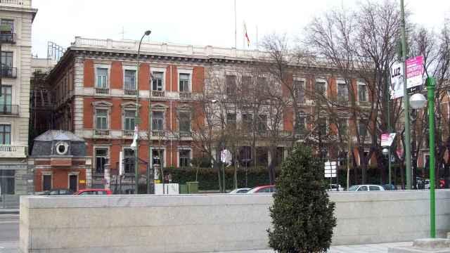 Imagen del palacio de Villamejor, sede del Ministerio de Política Territorial en Madrid.