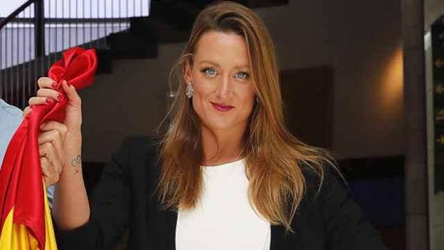 Mireia Belmonte, tercera mujer española en llevar la bandera en los Juegos Olímpicos