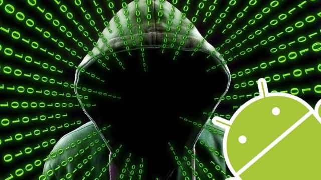 Fotomontaje con el logo de Android.