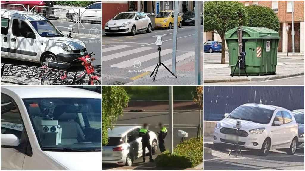 Varios radares móviles avistados en España esta semana.