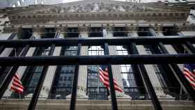 FILE PHOTO: The front facade of the NYSE is seen in New York