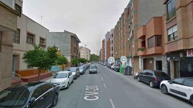 La avenida Montendre de Onda, Castellón, el lugar donde han sucedido los hechos.