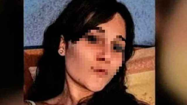 Marina, en la imagen difundida por su familia.