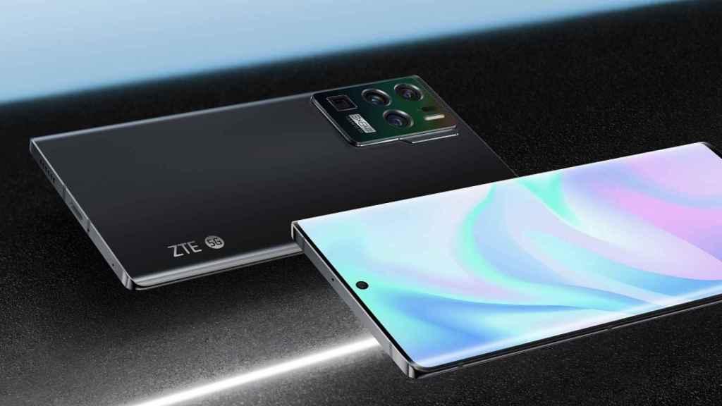 ZTE Axon 30 Ultra diseño