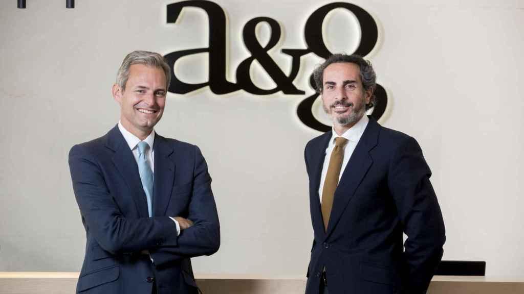 Andrés Allende y Diego Fernández Elices (A&G Banca Privada).