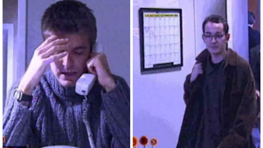 Marc Giró y Santi Villas en 1998 en un programa de 'Les 1000 i una...' de TV3.