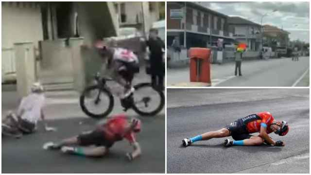 El accidente de Mikel Landa