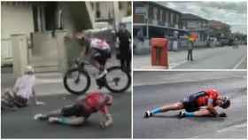 El accidente de Mikel Landa