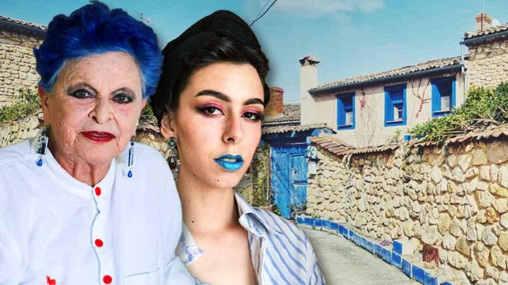 La nieta de Lucía Bosé es la encargada de gestionar las reservas del alquiler de la 'Casa azul'.