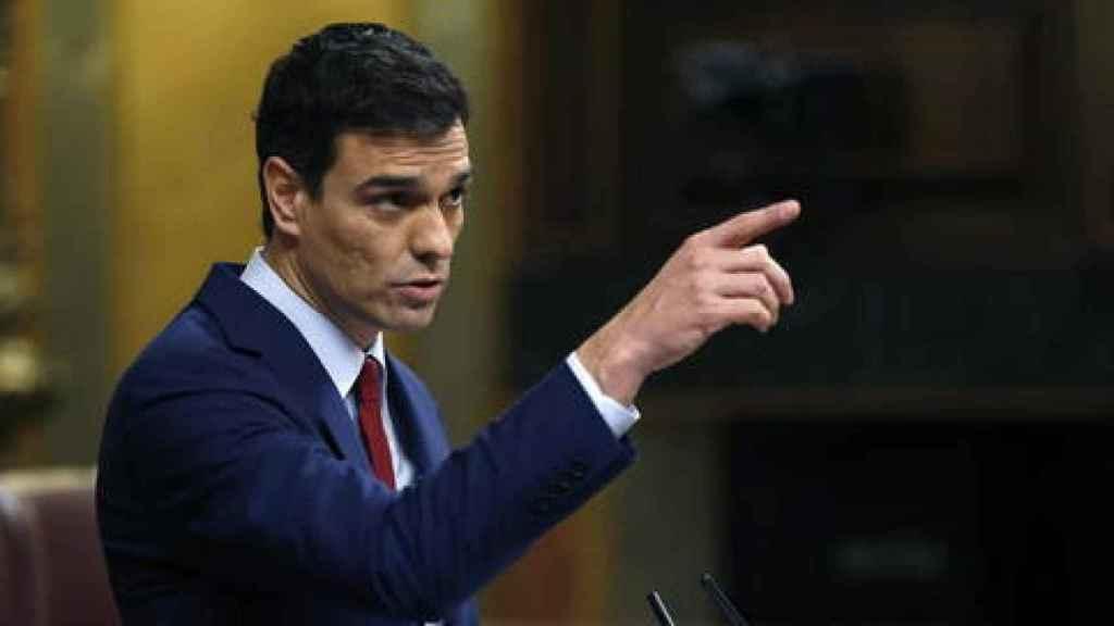 Intervención de Pedro Sánchez como líder de la oposición en el debate sobre el estado de la nación de 2015.