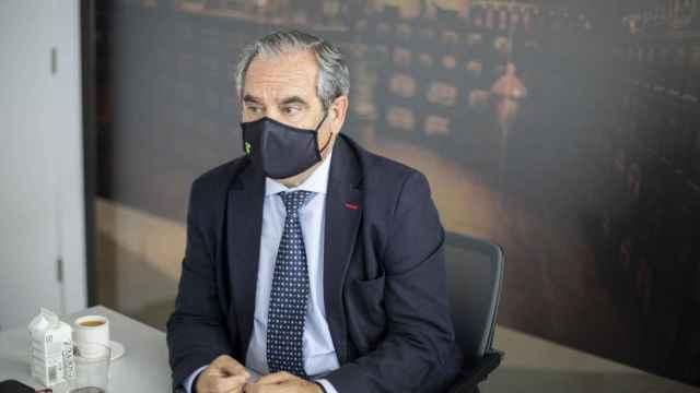 Jesús Aguilar, presidente del Consejo General de Farmacéuticos.