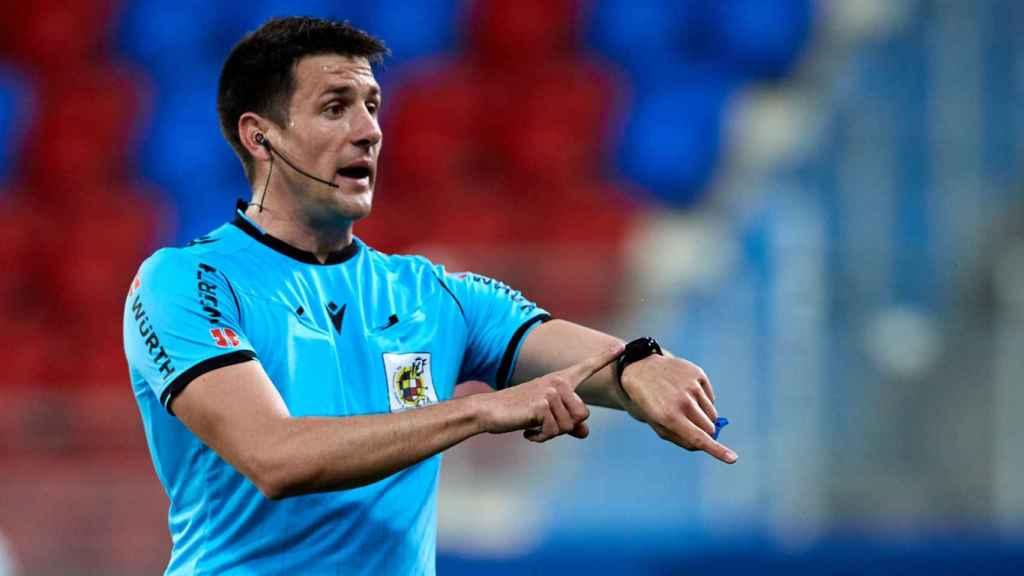 Isidro Díaz de Mera Escuderos, árbitro de La Liga