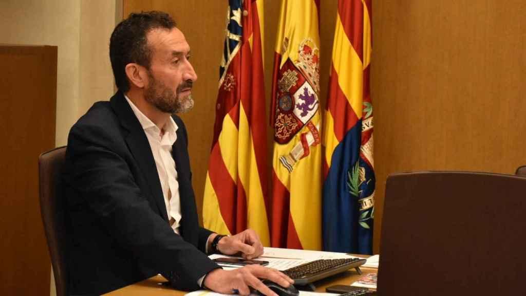 El alcalde de Elche, Carlos González