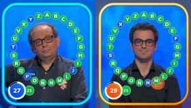 Pablo y Javier llevan 12 empates en 15 programas.