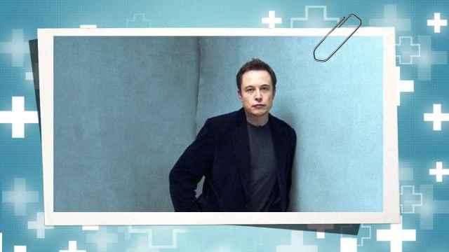Elon Musk en un montaje de JALEOS.