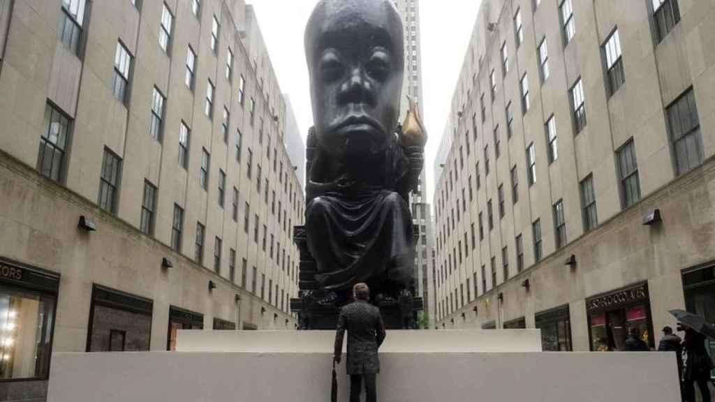 El Oráculo en Rockefeller Center.
